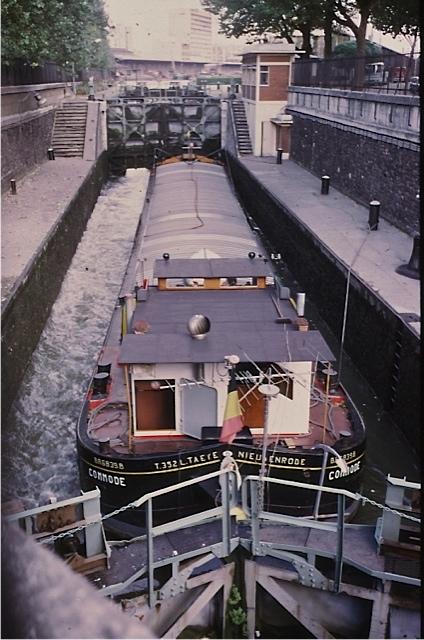 サンマルタン運河/パリ
