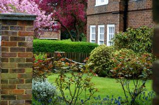 ハンプステッドの邸宅の庭