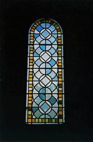 シルヴァカーヌ修道院「ステンドグラス」