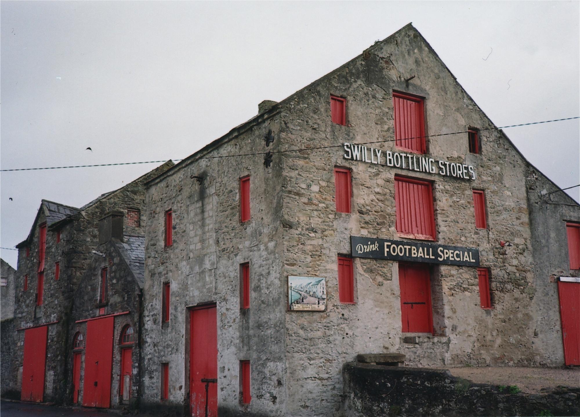 地ビールの倉庫 ラスマフレン、ドニゴール州、アイルランド