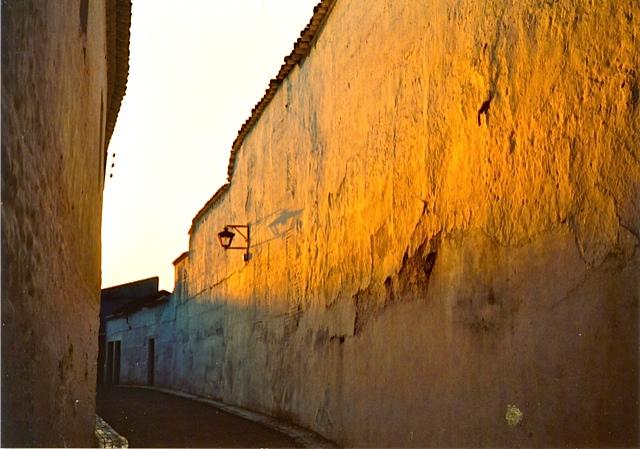 アルマグロの路地