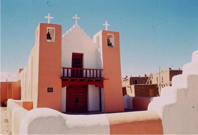 キリスト教会/タオス/ニューメキシコ