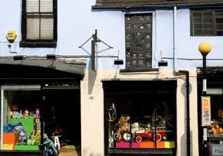 ハンプステッドの玩具の店