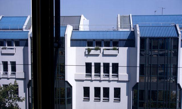 ポンピドー・センターの窓、パリ